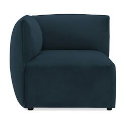 Cube Sofa Left Corner | Navy