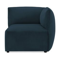 Cube Sofa Right Corner | Navy