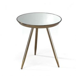Table basse Spok | Or rose