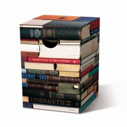 Cardboard Stool | Books