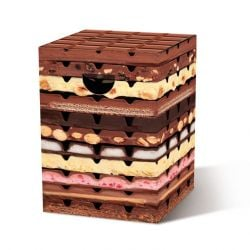Papphocker | Schokolade