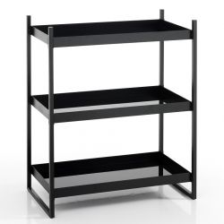 Shelf Chuku with 3 Shelves | Black