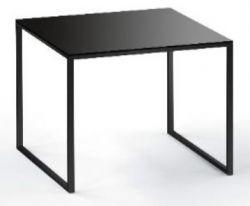 Table d'Appoint Less 23/2 | Noir Verre