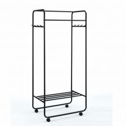 Clothes Rack Zach | Black
