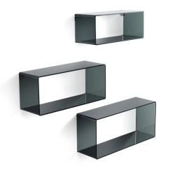 Wall Cubes | Set of 3 | Black