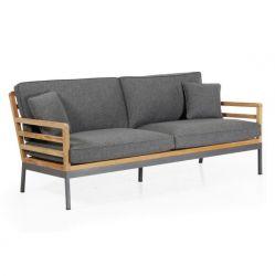 Zalongo-Sofa 3 Sitze mit Kissen