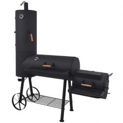 Charcoal Smoker Barbecue with Firebox XXL