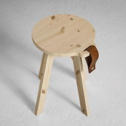 Country Stool | Natural