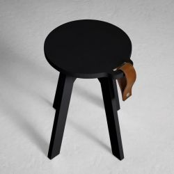 Tabouret Country | Noir