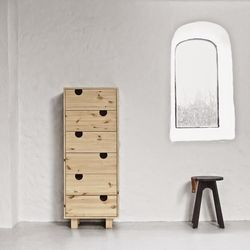 Dressoir 6 Tiroirs House | Naturel