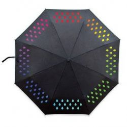 Colour-Changing Umbrella | Black