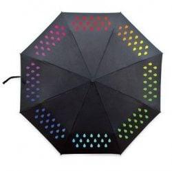Farbwechselschirm | Schwarz