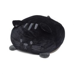 Cushion Kitty | Black Polyester