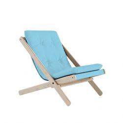 Chair Boogie | Raw / Light Blue