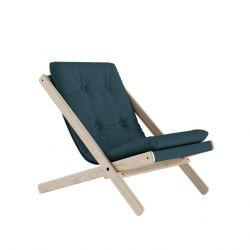 Chair Boogie | Raw / Petrol Blue