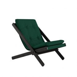 Chair Boogie | Black Lacquered / Forest Green