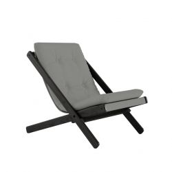Chair Boogie | Black Lacquered / Grey