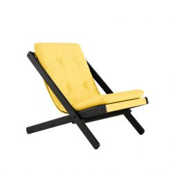 Chair Boogie | Black Lacquered / Yellow