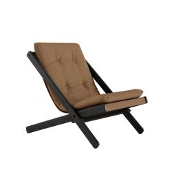 Chair Boogie | Black Lacquered / Mocca
