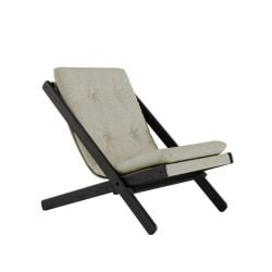 Chair Boogie | Black Lacquered / Linen