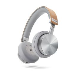 Bluetooth On-Ear Headphones Wireless Concert One | Silver