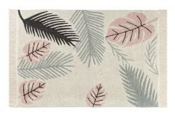 Tapis Lavable | Tropical Pink