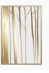 Poster 20 x 30 cm Noga Gasko 24k Gold-Baum 002