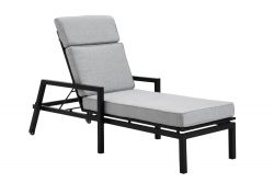 Lounger Belfort | Black & Grey