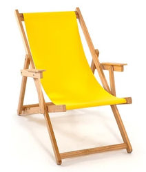 Beach Chair | Yellow