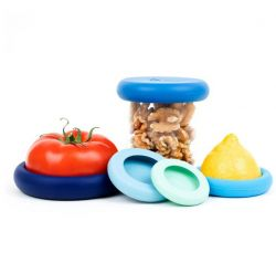 Food Huggers Ice Blue | Set of 5