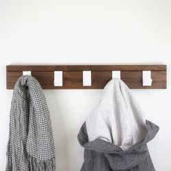 Coat Hanger 45 Walnut