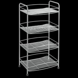 Bathroom Rack Onda | 4 Levels | Silver