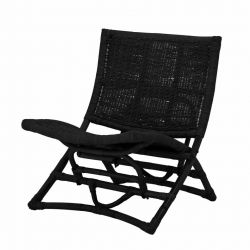 Lounge Chair Baz | Black
