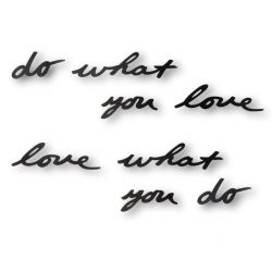 Muurdecoratie Mantra Do What You Love
