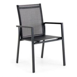 Avanti Stackable Chair | Anthracite & Grey