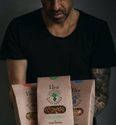 Geschenkpaket Quinoa Granola von Sergio Herman | 3er-Satz