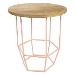 Side Table Hexa | Pink