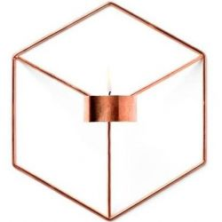 Candle Holder POV Wall | Copper