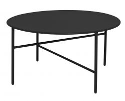 Table d'Appoint Ø 70 cm | Noir