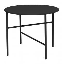 Side Table Ø 50 cm | Black