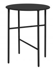Table d'Appoint Ø 40 cm H 50 cm | Noir