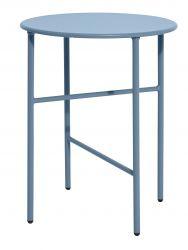 Table d'Appoint Ø 40 cm H 50 cm   Ombre Bleu