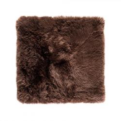 Sheepskin Rug Square | Brown