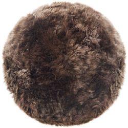 Sheepskin Rug Round | Taupe