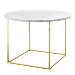 Coffee Table Eva | Marble | White