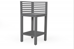 Outdoor Kitchen Corner Bellac | Grey