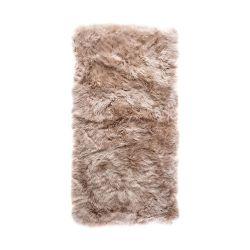 Sheepskin Rug Rectangle | Light Brown