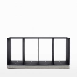 Manhattan Cabinet Banc | Anthracite