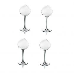 Tipsy Wine Glass | Set/4
