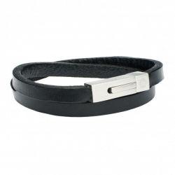 Herrenarmband | Schwarz